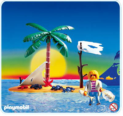 Playmobil - 3861 - Pirate island