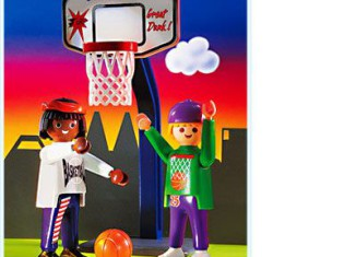 Playmobil - 3867 - Street Hoops Set
