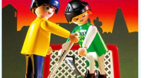 Playmobil - 3869 - Street Hockey Set