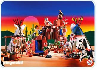 Playmobil - 3870 - Camp Thunder