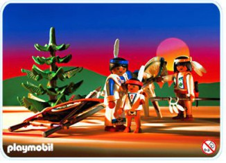 Playmobil - 3872 - Native American Family