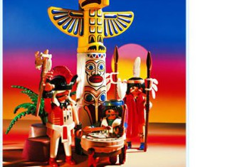Playmobil - 3873 - Totempole Warriors