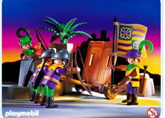 Playmobil - 3889 - Archers Wall
