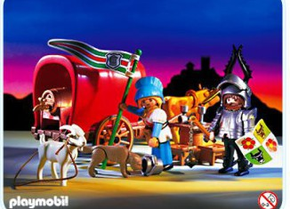 Playmobil - 3891 - Ox-Cart Knight