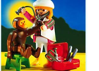 Playmobil - 3892 - Tierärztin mit chimpansee