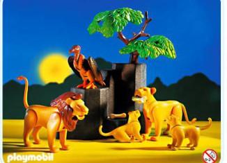 Playmobil - 3895 - Leones en la sabana