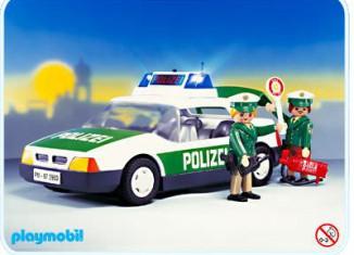 Playmobil - 3903v1 - Police Car