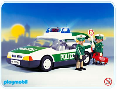 playmobil set 3903v1 police car klickypedia. Black Bedroom Furniture Sets. Home Design Ideas