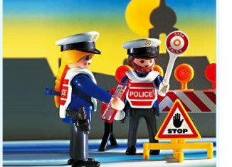 Playmobil - 3906 - Police Checkpoint