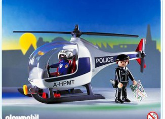 Playmobil - 3908 - Police Helicopter