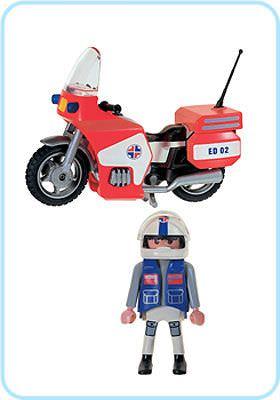 Playmobil 3924 - Paramedic - Back