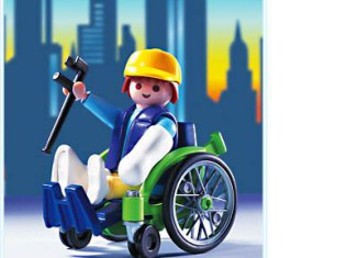 Playmobil - 3928 - Patient/Wheelchair
