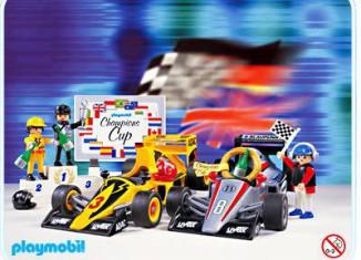 Playmobil - 3930 - 2 Car Racing Set
