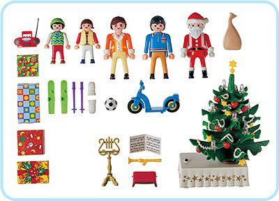 Playmobil 3931 - Christmas Eve - Back