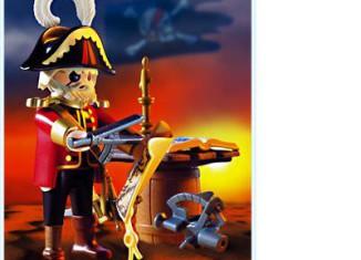 Playmobil - 3936 - Pirate captain