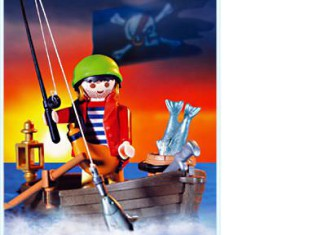 Playmobil - 3937 - Pirate and rowboat