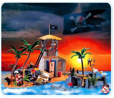 Playmobil Set 3938 Pirate Lagoon Klickypedia