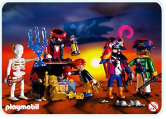 Playmobil - 3939 - Pirate crew