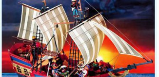 Playmobil - 3940 - Big pirate flagship