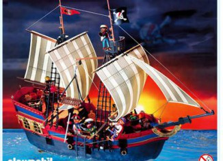 Playmobil - 3940 - Grand bateau Pirates