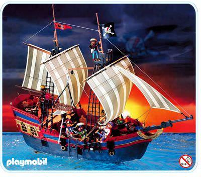 playmobil set 3940 big pirate flagship klickypedia. Black Bedroom Furniture Sets. Home Design Ideas