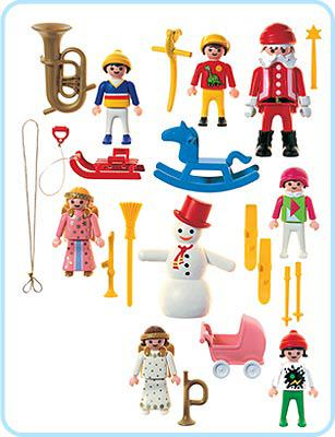 Playmobil 3943 - Christmas Tree Decoration - Back