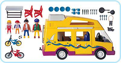 Playmobil 3945 - Vacation Camper - Back