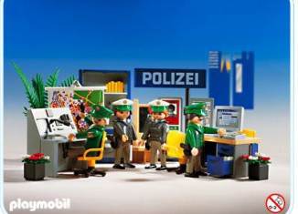 Playmobil - 3954 - Police Office