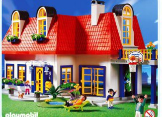 Playmobil set 3965 house klickypedia for Cuisine playmobil