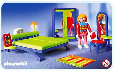 Playmobil set 3967 bedroom klickypedia for Playmobil haus schlafzimmer