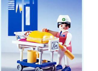 Playmobil - 3979 - Pediatric Nurse