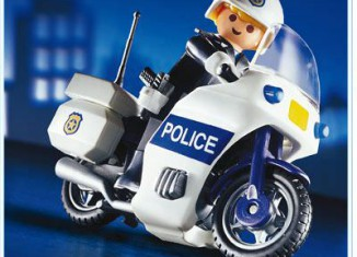 Playmobil - 3986 - Police Motorcycle