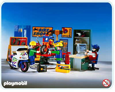 Playmobil - 3992 - Bike Shop