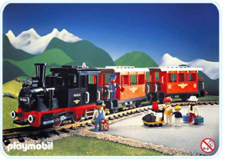 Playmobil - 4001 - Passenger Train with Steam Locomotive