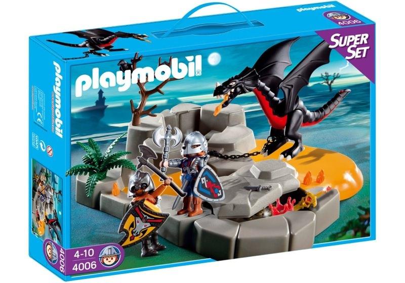 Playmobil 4006s2 - SuperSet Dragon`s Lair - Box