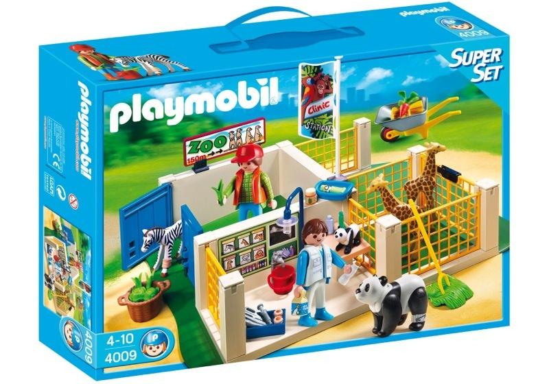 Playmobil 4009 - Super Set Animal Care Station - Box