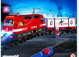 Playmobil - 4010 - RC-Cargo Engine with Light