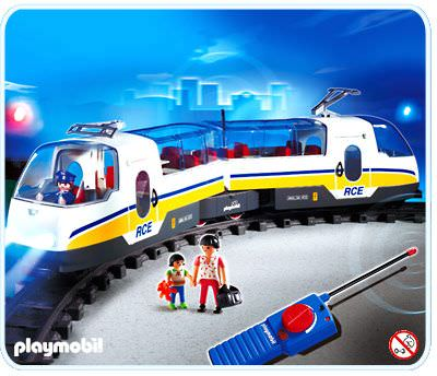 Playmobil w402 train-clip fastener rails rc express cargo radio-controlled