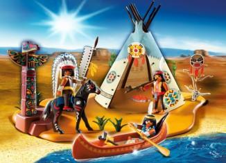 Playmobil - 4012 - SuperSet Native American Camp