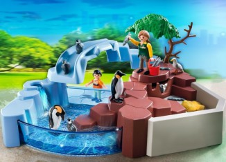 Playmobil - 4013 - SuperSet Penguin Habitat