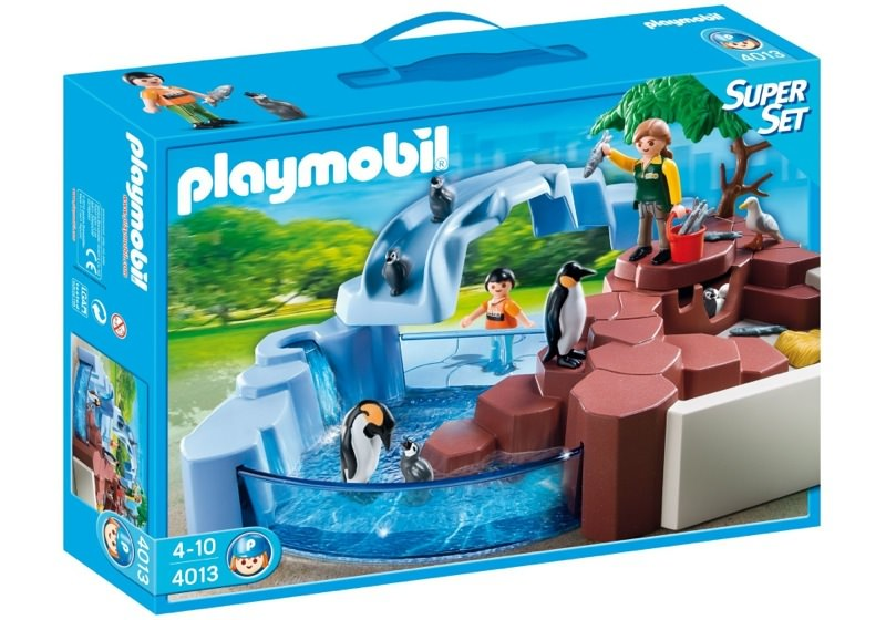 Playmobil 4013 - SuperSet Penguin Habitat - Box