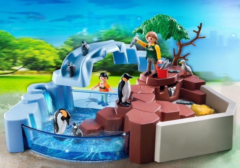 Playmobil set 4013 superset penguin habitat klickypedia for Piscina playmobil