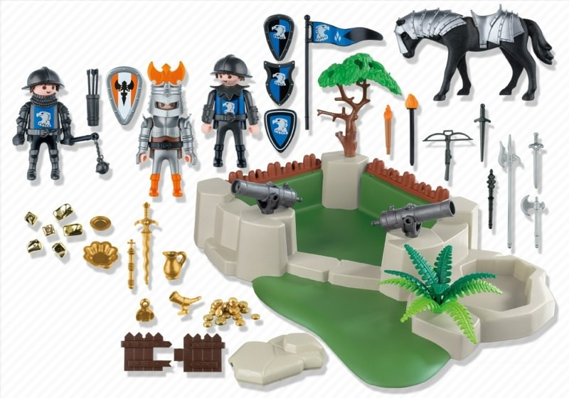 Playmobil 4014 - SuperSet Knights Fort - Back