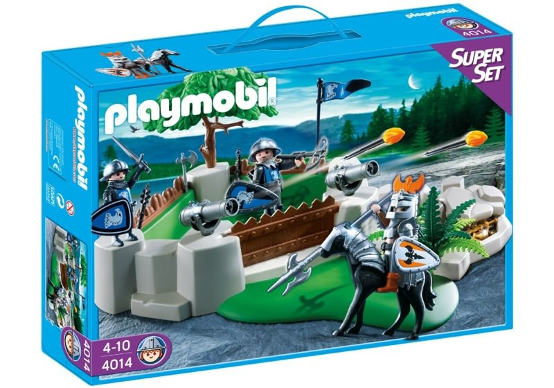 Playmobil 4014 - SuperSet Knights Fort - Box