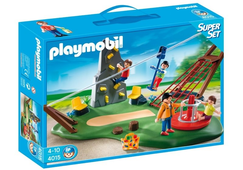Playmobil 4015 - SuperSet Activity Playground - Box