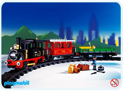 Playmobil set 4017 rc old timer train klickypedia - Train playmobil ...