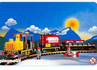 Playmobil - 4024-usa - Diesel Train Set