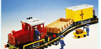 Playmobil - 4025 - Diesel Freight Train Set