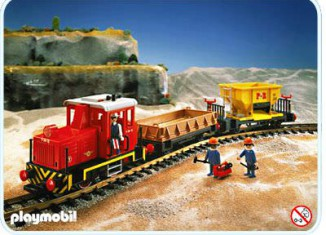 Playmobil - 4027 - Diesel Freight Train Set