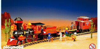 Playmobil - 4034v1 - Large Western Train Set